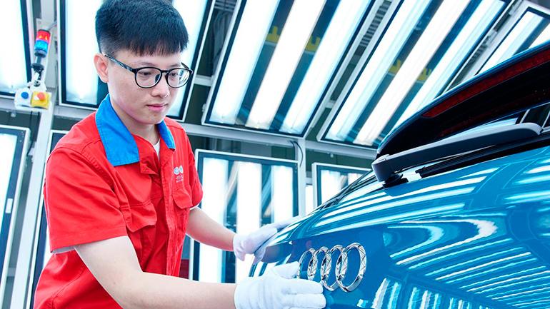 Audi и китайский FAW запустят совместное производство электроавтомобилей в Китае