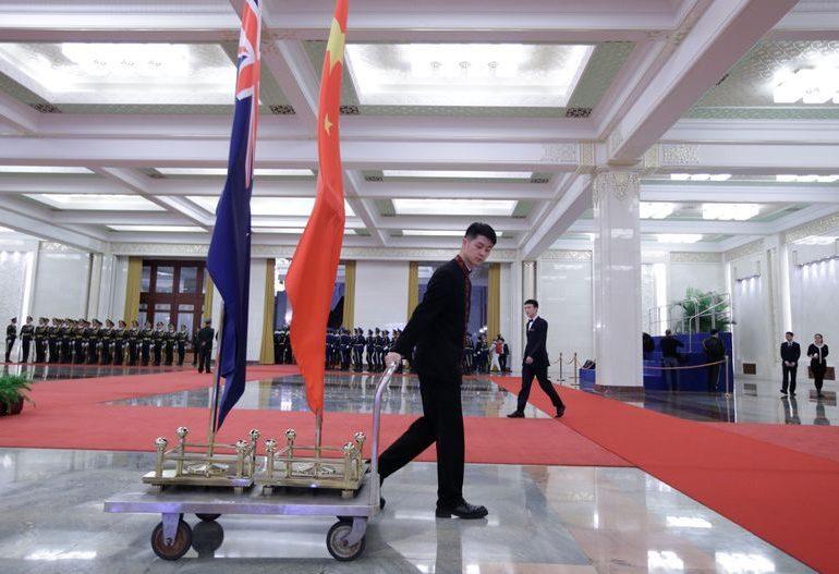 Китай и Новая Зеландия подписали торговое соглашение