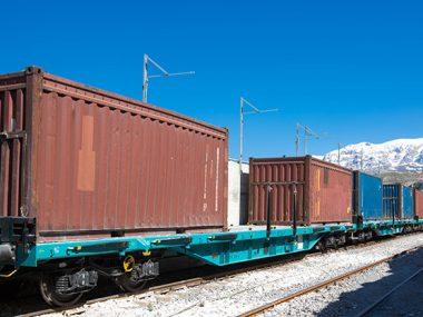 В январе через Украину проследовало 14 поездов Китай-ЕС