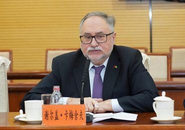 Умер посол Украины в Китае Сергей Камышев