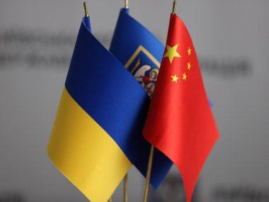 Посол Китая в Украине провёл переговоры с лидером правой оппозиции