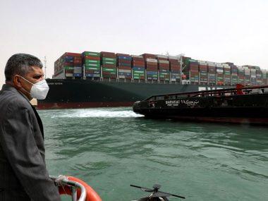 Для нормализации морских поставок из Китая в Европу после блокировки Суэцкого канала понадобится месяц