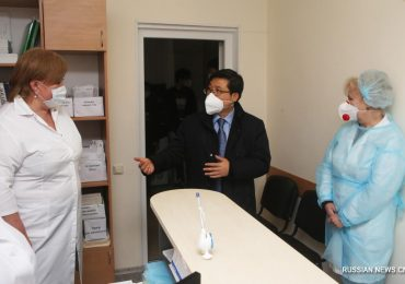Посольство КНР организовало вакцинацию китайской диаспоры в 3 украинских городах