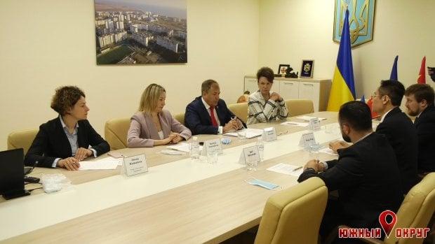 Китайская Ассоциация малого и среднего бизнеса подписала Меморандум с г. Южный Одесской области