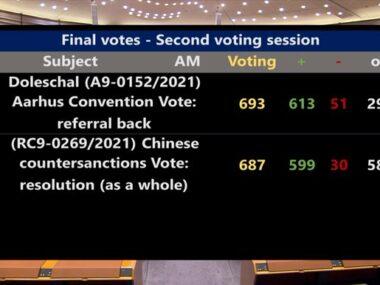 Европарламент заморозил ратификацию инвестиционного соглашения с Китаем