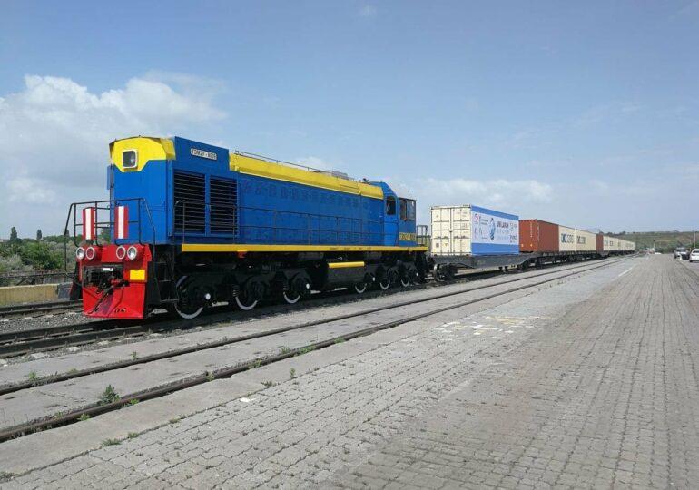 В Одесскую область прибыл грузовой поезд Китай-Европа