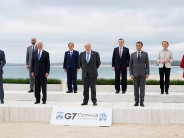 Лидеры G7 договорились о противостоянии Китаю