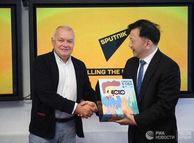 China Media Group и «Россия сегодня» подписали договор об углублении сотрудничества