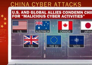 США и их союзники обвинили Китай в хакерских атаках по всему миру