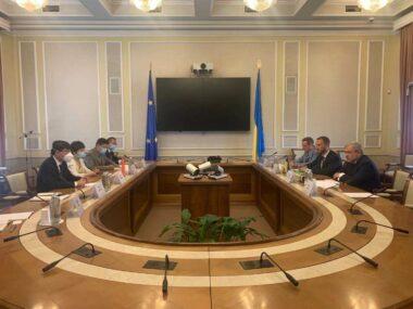 Посол Китая провел встречу с министром энергетики Украины
