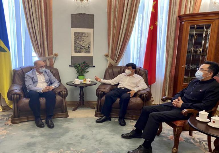 Фань Сяньжун встретился с гендиректорами ведущих украинских информагентств