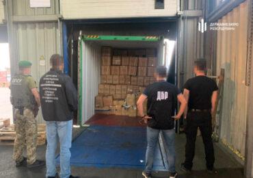 На одесской таможне задержали контрабанду из Китая на 2 млн грн
