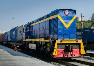 Из Китая в Украину отправился контейнерный поезд по альтернативному маршруту
