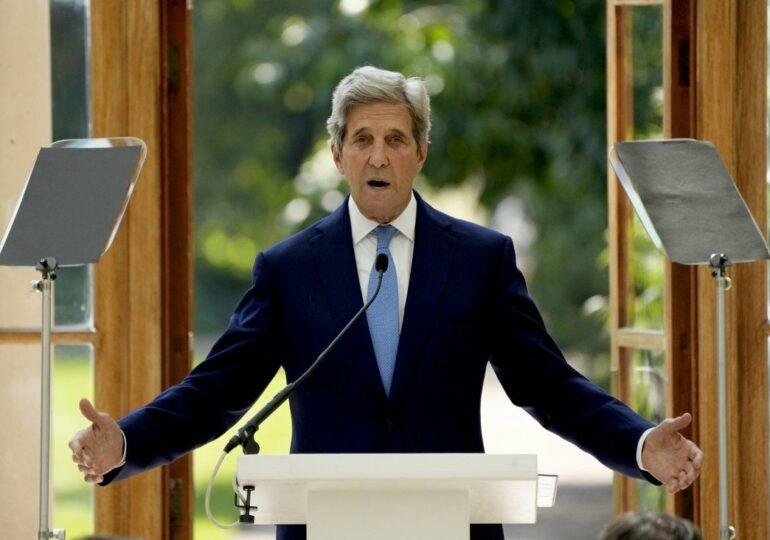 КНР и США усилят борьбу с изменением климата после визита Джона Керри в Китай