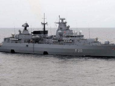 ФРГ впервые с 2002 года отправила военный корабль в Южно-Китайское море