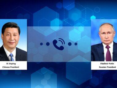 Си Цзиньпин и Владимир Путин провели переговоры по Афганистану