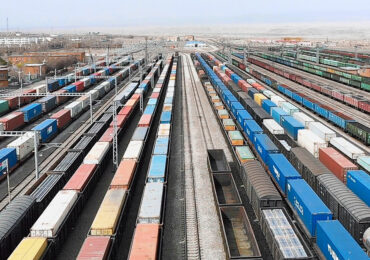 China Railway Express увеличивает грузоперевозки через границу с Казахстаном