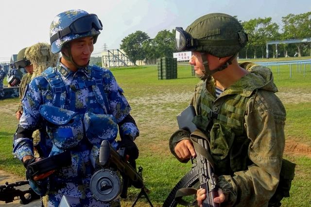 В КНР стартовали российско-китайские военные учения