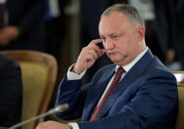 Пророссийский экс-президент Молдовы Игорь Додон возмущен игнорированием роли китайского посла