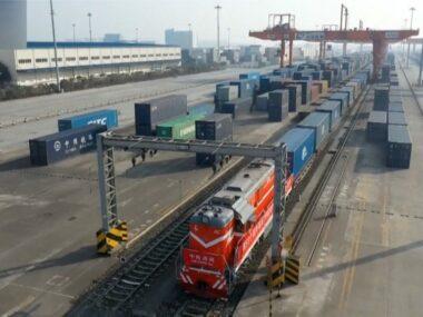 Запущен новый железнодорожный маршрут из Китая в Европу