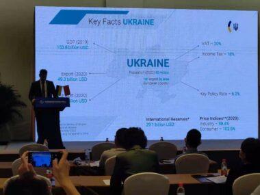 Посольство Украины в КНР приняло участие в CIFTIS-2021