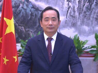 Мэр китайского Сианя поздравил Днепр с Днем города