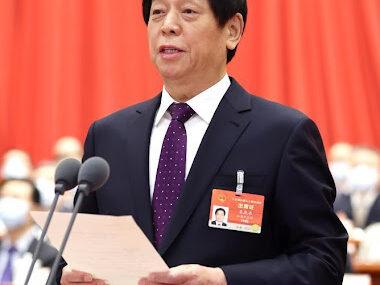 Председатель ПК ВСНП КНР поздравил Руслана Стефанчука с избранием на должность Председателя ВРУ